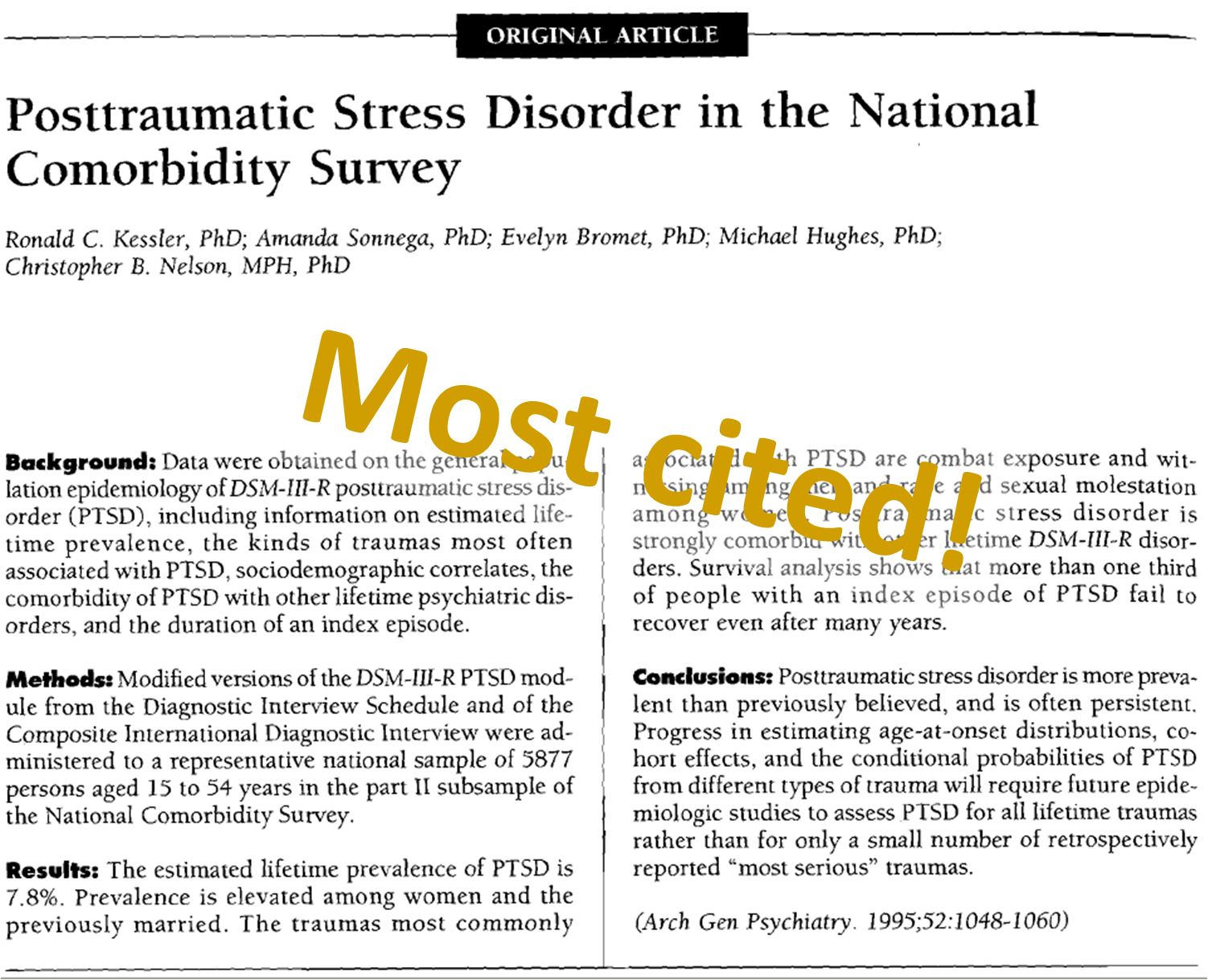 The  Most Influential Papers On Posttraumatic Stress Trauma Trauma Recovery Most Cited Papers The  Most Influential Papers On Posttraumatic Stress
