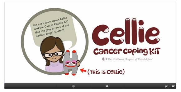Cellie Cancer Coping Kit Presentation